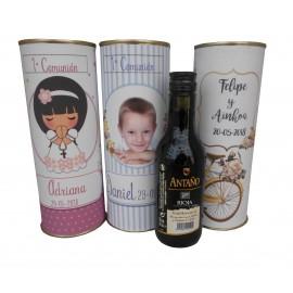 Vino tinto Antaño tempranillo Rioja en lata personalizada