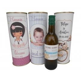 Vino blanco Jaume Serra en lata personalizada