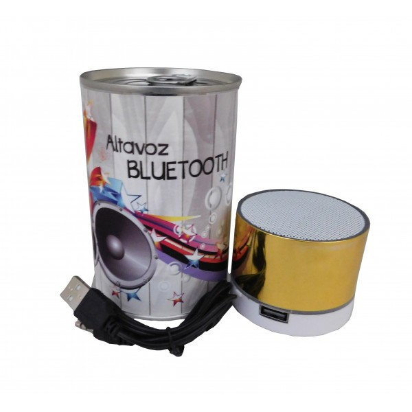 Altavoz radio bluetooth PLAY en lata