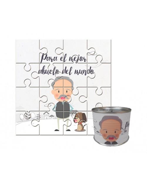 Puzzle para regalo abuelo