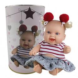 Muñeca Valeria en lata personalizada