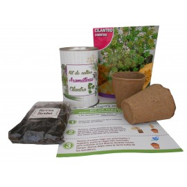 Kit de cultivo Cilantro en lata