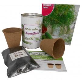 Kit de cultivo Eneldro en lata