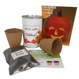 Kit de cultivo Calabaza en lata